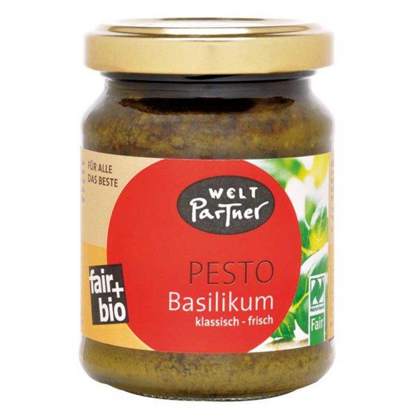 grünes Pesto (mit Basilikum)