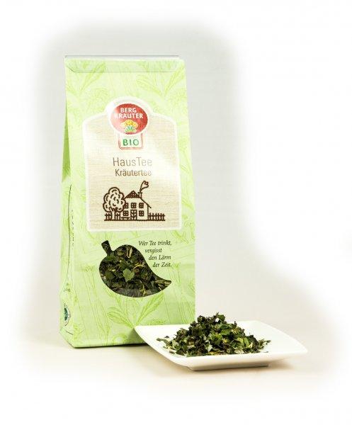 Haustee Bio-Kräutertee-Bio-Kraeutertee Haustee aus Fairem Handel von Bergkraeuter-Fairer Handel mit Tee und Kraeutern in Europa-Fairtrade Bio-Kraeutertee aus Oesterreich