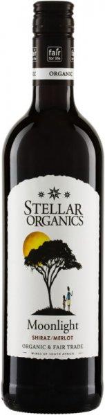 Bio-Shiraz-Merlot 'Moonlight' - Stellar Organics-Bio-Rotwein vegan Shiraz-Merlot aus Fairem Handel Stellar Organics-Fairer Handel im Weinbau mit Wein aus Suedafrika-Fairtrade Bio-Rotwein Moonlight Shiraz-Merlot aus Suedafrika