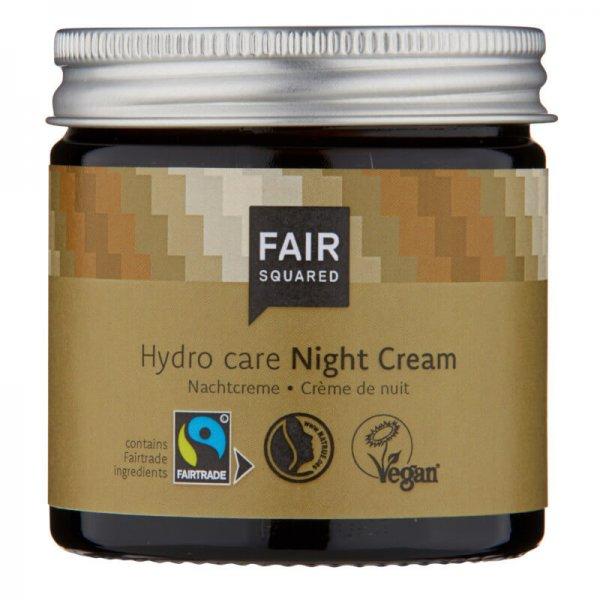 Nachtcreme Hydro Care, Night Cream-Naturkosmetik Nachtcreme aus Fairem Handel Fair Squared-Fairer Handel mit Naturkosmetik und Oelen-Fair Trade Naturkosmetik vegan halal