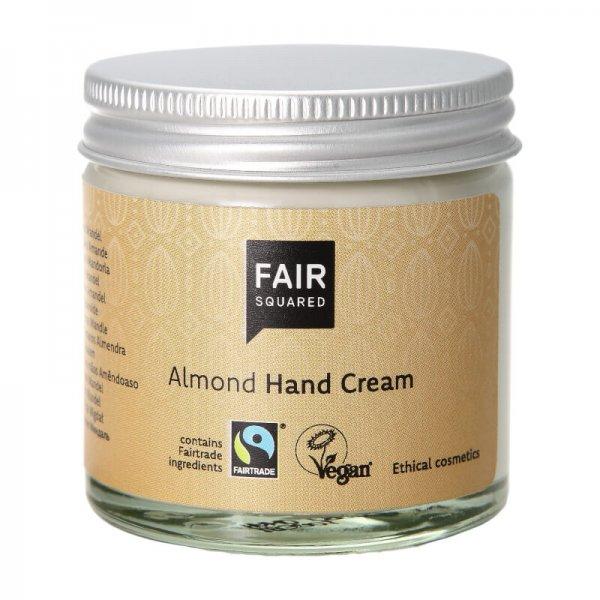 Handcreme Almond-Naturkosmetik Handcreme aus Fairem Handel-Fairer Handel mit Naturkosmetik und Oelen-Fair Trade Fair Squared Naturkosmetik vegan halal