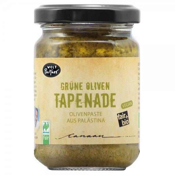 Bio-Grüne Oliven Tapenade