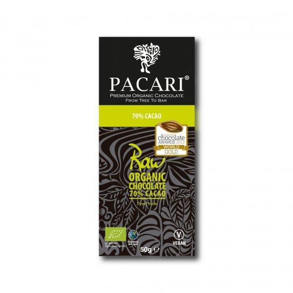 Bio-Schokolade aus Rohkakao, 70%-Rohkakao Bio-Schokolade aus Fairem Handel von Pacari-Fairer Handel mit Schokolade und Rohkakao-Fairtrade Bio-Schokolade aus Rohkakao Ecuador