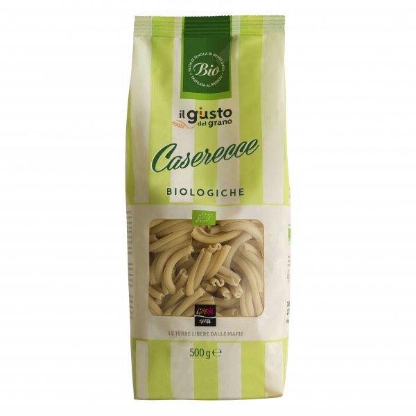 Bio-Caserecce-Bio-Caserecce Nudeln von Libera Terra Sizilien-Fairer Handel mit Lebensmittel ohne Mafia in Italien und Europa-Fairtrade Bio-Nudeln Caserecce von Libera Terra Sizilien