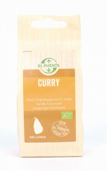 Bio-Curry, mild-Bio-Curry original Rezeptur Sri Lanka aus Fairem Handel -Fairer Handel mit Gewuerzen und Kraeutern-Fairtrade Bio-Curry von El Puente aus Sri Lanka