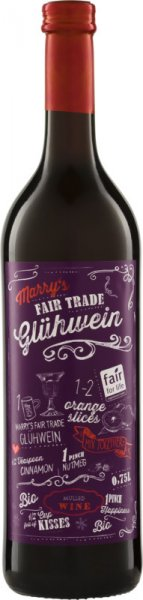 Marry's Fair Trade Bio-Glühwein, rot