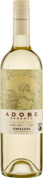 Bio-Sauvignon Blanc Reserva 2019 - Emiliana-Bio-Weisswein Sauvignon Blanc trocken aus Fairem Handel-Fairer Handel mit Wein und Weisswein aus Uebersee-Fairtrade Bio-Weisswein von Emiliana aus Chile