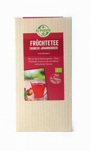 Bio-Früchtetee Erdbeer-Johannisbeer