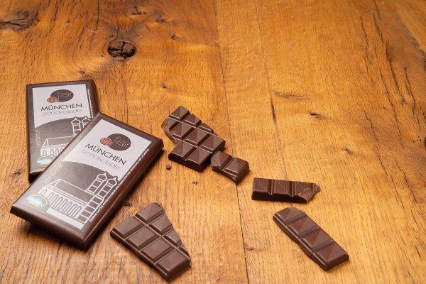 München Schokolade Zartbitter-Bio-Zartbitterschokolade München Schokolade von GEPA-Fairer Handel mit Schokolade und Kakao-Fairtrade München Schokolade aus Bolivien und Peru