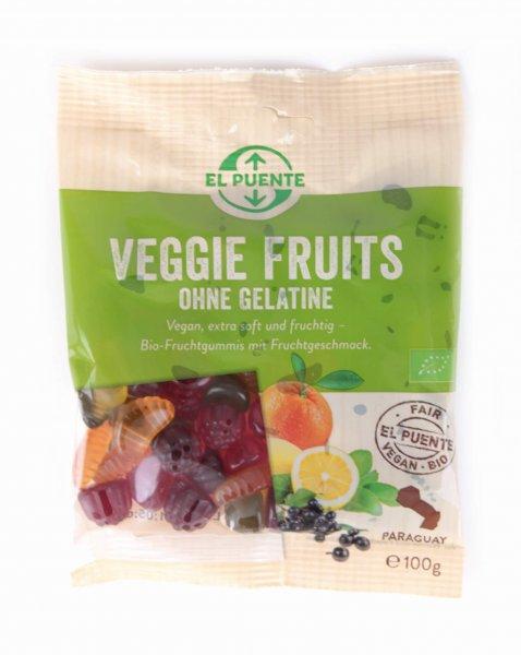 Bio-Fruchtgummis Veggie Fruits-vegane Bio-Fruchtgummis aus Fairem Handel von El Puente-Fairer Handel mit Suessigkeiten und Gummibaerchen-Fair Trade Bio-Fruchtgummis vegan aus Paraguay
