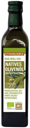 Bio-Olivenöl nativ-Bio-Olivenoel nativ aus Fairem Handel von Ethiquable-Fairer Handel mit Oliven und Oelen-Fair Trade Bio-Olivenoel aus Tunesien