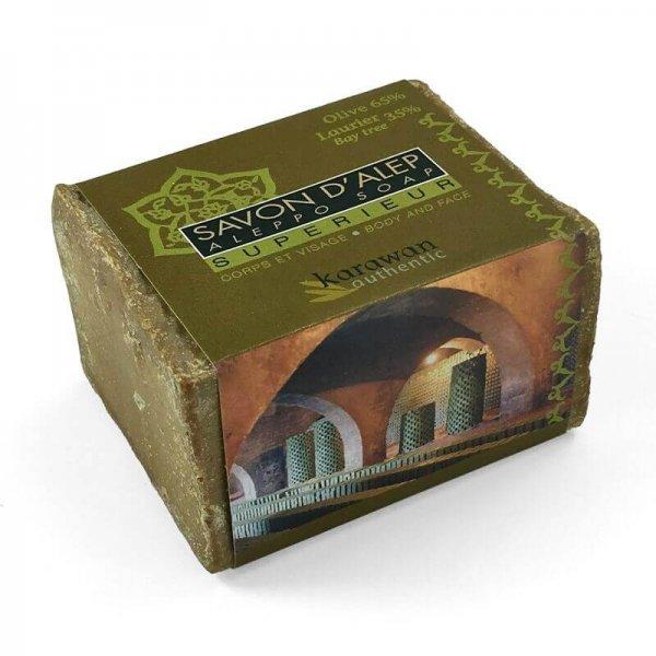Aleppo-Seife 'Superior'-Aleppo-Seife Superior aus Fairem Handel-Fairer Handel mit Seifen und Naturkosmetik-Fairtrade Aleppo-Seifen Qualitaet aus Syrien