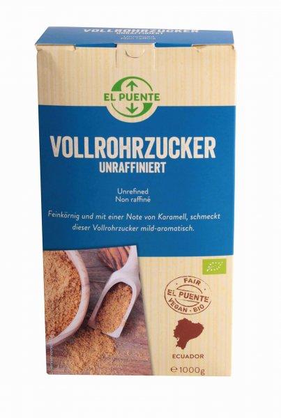 Bio-Vollrohrzucker, unraffiniert-Bio-Vollrohrzucker aus Fairem Handel-Fairer Handel mit Zucker-Fairtrade Bio-Vollrohrzucker aus Ecuador