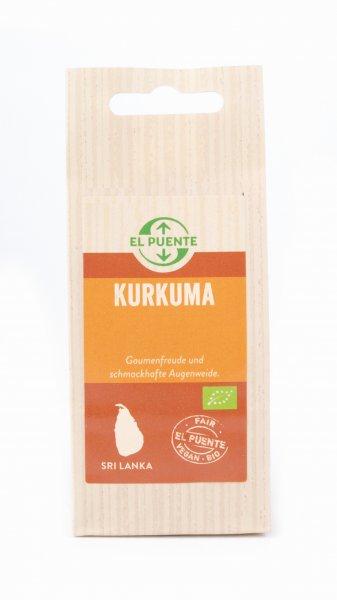 Bio-Kurkuma, gemahlen-Bio-Kurkuma Gelbwurzel aus Fairem Handel von El Puente-Fairer Handel mit Gewuerzen und Kraeutern-Fair Trade Bio-Kurkuma von Podie aus Sri Lanka