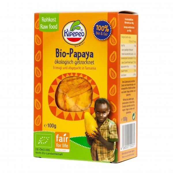 Bio-Papaya, getrocknet