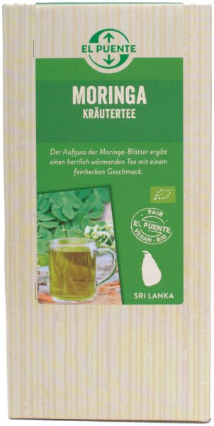 Bio-Moringa Kraeutertee-Bio-Moringa Kraeutertee aus Fairem Handel-Fairer Handel mit Moringa und Superfood-Fair Trade Bio-Moringa Kraeutertee aus Sri Lanka