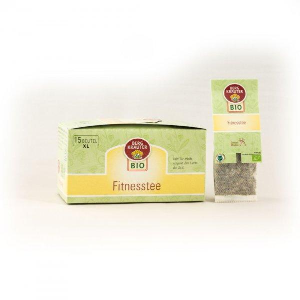 Bio-Kräutertee Fitnesstee-Bio-Kraeutertee Teebeutel aus Fairem Handel von Bergkraeuter-Fairer Handel mit Tee und Kraeutern in Europa-Fairtrade Bio-Kraeutertee aus Oesterreich