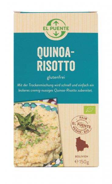 Bio-Quinoa Risotto-Bio-Quinoa Risotto aus Fairem Handel-Fairer Handel mit Lebensmittel-Fair Trade Bio-Quinoa Risotto aus Bolivien