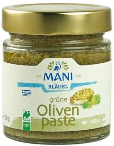 grüne Bio-Olivenpaste