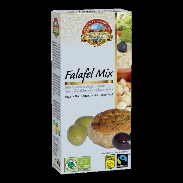 Bio-Falafel Mix-Bio-Falafel Fertigmischung aus Fairem Handel Lemberona-Fairer Handel mit Lebensmittel und Falafel-Fairtrade Bio-Falafel Mischung von Kleinbauern aus Usbekistan