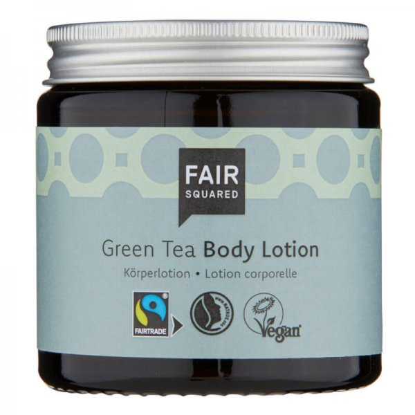Body Lotion Green Tea-Naturkosmetik Body Lotion aus Fairem Handel Fair Squared-Fairer Handel mit Naturkosmetik und Oelen-Fair Trade Naturkosmetik von Fair Squared vegan halal