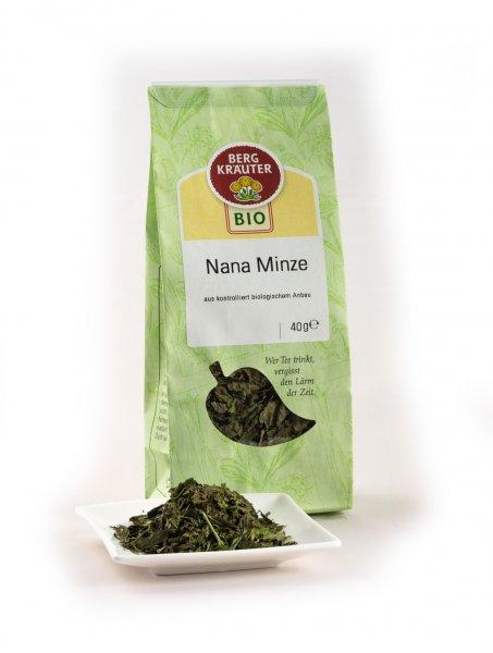 Bio-Kräutertee Nanaminze-Bio-Kraeutertee Nanaminze aus Fairem Handel von Bergkraeuter-Fairer Handel mit Tee und Kraeutern in Europa-Fairtrade Bio-Nanaminzetee aus Oesterreich
