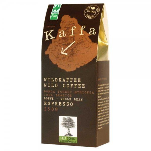 Bio-Wildkaffee Espresso, ganze Bohne