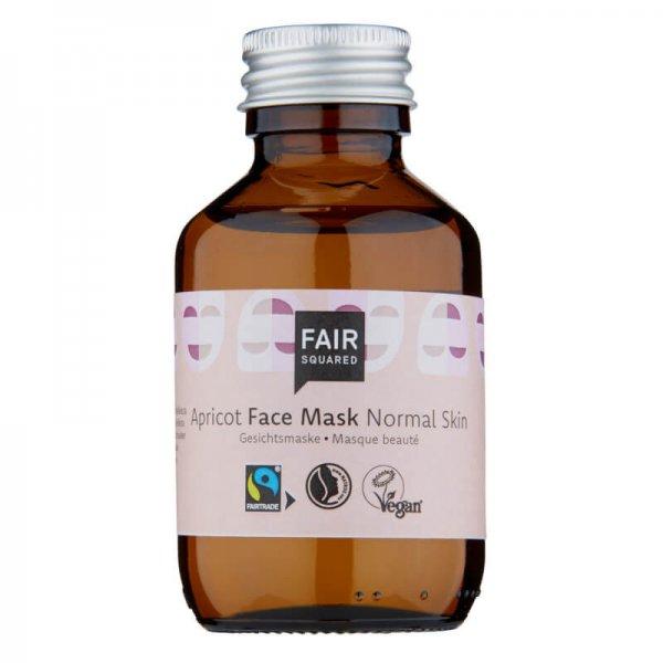 Gesichtsmaske 'Aprikose' - normale Haut-Naturkosmetik Gesichtsmaske Aprikose aus Fairem Handel von Fair Squared-Fairer Handel mit Naturkosmetik und Wellnessprodukten-Fairtrade Gesichtsmaske Aprikosenoel natuerlich und vegan