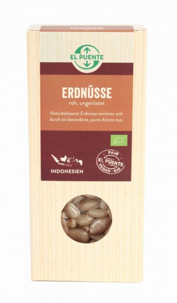 Bio-Erdnüsse, natur