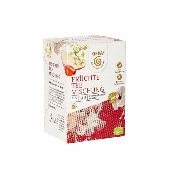 Bio-Früchtetee-Bio-Fruechtetee aus Fairem Handel von GEPA-Fairer Handel mit Tee und Fruechten-Fairtrade Bio-Fruechtetee von SEKEM Aegypten