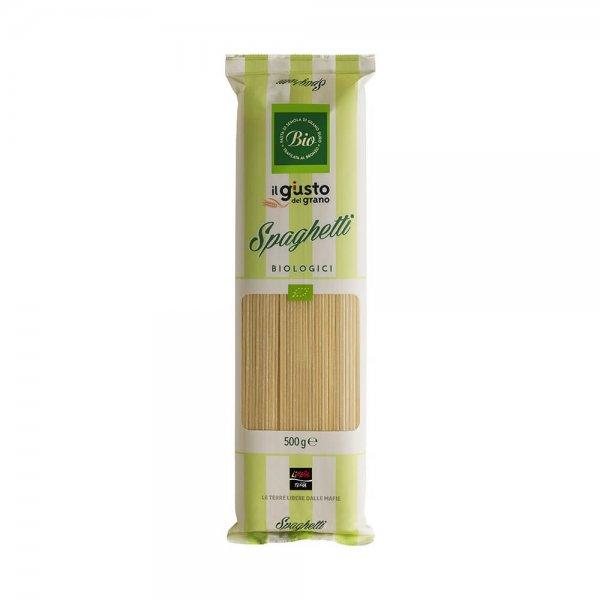 Bio-Spaghetti-Bio-Spaghetti von Libera Terra Sizilien-Fairer Handel ohne Mafia in Italien und Europa-Fairtade Bio-Spaghetti von Libera Terra aus Italien