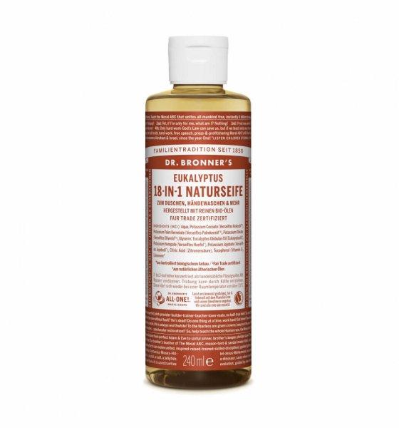 18-in-1 Naturseife Eukalyptus, 240 ml
