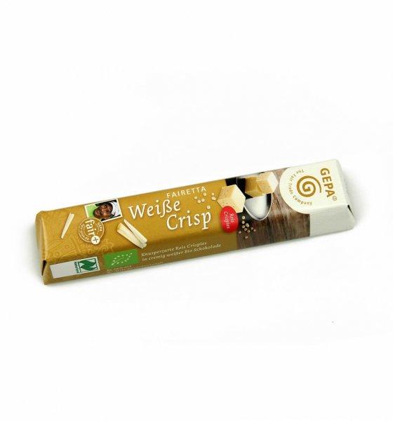Fairetta Bio-Schokoriegel Weiße Crisp
