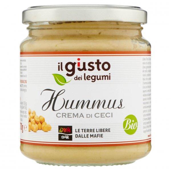 Bio-Hummus Kichererbsencreme