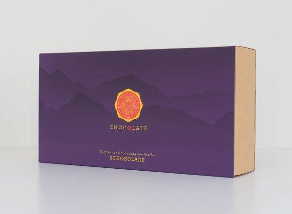 Bio-Schokolade Set zum Selbermachen - gross
