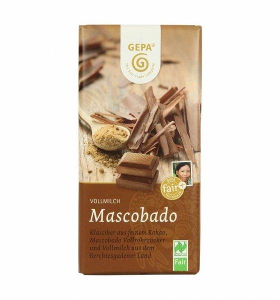Bio-Schokolade Mascobado
