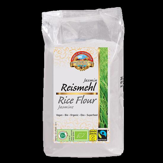 Bio-Reismehl-Bio-Reismehl glutenfrei aus Fairem Handel Lemberona-Fairer Handel mit Reis und Mehl-Fairtrade Bio-Reismehl von Kleinbauern aus Thailand
