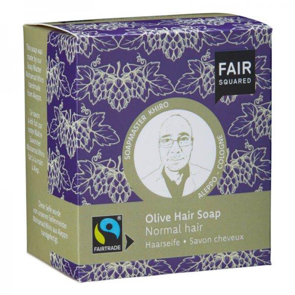 Haarseife Olive-Naturkosmetik Haarseife Olive aus Fairem Handel-Fairer Handel mit Naturkosmetik und Wellnessprodukten-Fairtrade Naturkosmetik von Fair Squared Palaestina