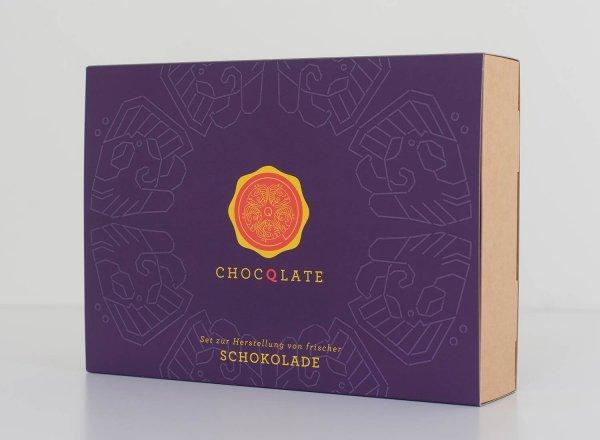 Bio-Schokolade Set zum Selbermachen - blau