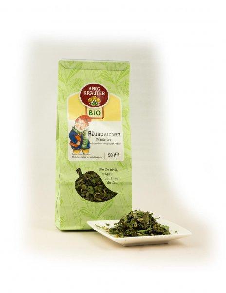 Bio-Kräutertee Räusperchen-Bio-Kraeutertee Raeusperchen aus Fairem Handel-Fairer Handel mit Tee und Kraeutern in Europa-Fairtrade Bio-Kraeutertee aus Oesterreich