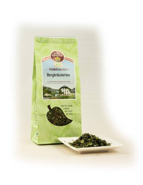 Mühlviertler Bio-Bergkräutertee-Bio-Kraeutertee Muehlviertler Bergkraeuter aus Fairem Handel-Fairer Handel mit Tee und Kraeutern in Europa-Fairtrade Bio-Kraeutertee aus Oesterreich