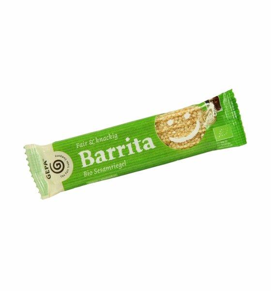 Bio-Sesamriegel Barrita-Bio-Seamriegel aus Fairem Handel-Fairer Handel mit Sesam und Suessigkeiten-Fair Trade Bio-Sesamriegel aus Nicaragua und Paraguay