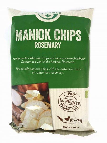 Bio-Maniok Chips Rosmarin