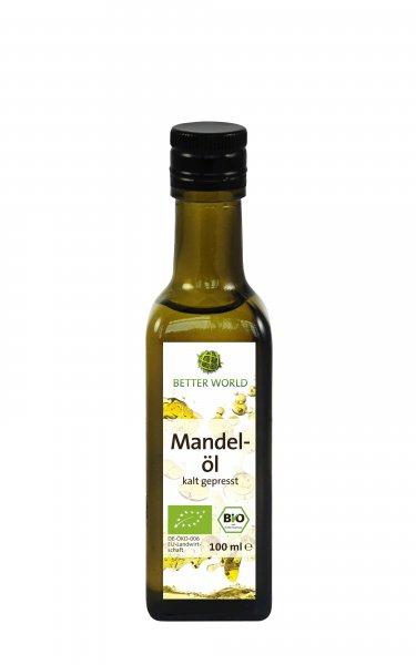 Bio-Mandelöl, kaltgepresst-Bio-Mandeloel aus Suessmandeln sozial verantwortlich gehandelt-Faires Handeln mit Mandeloel von Menschen mit Behinderung-Fairtrade Bio-Mandeloel von Better World