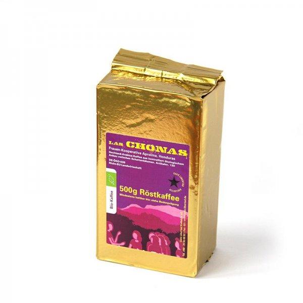 Bio-Röstkaffee Las Chonas, gemahlen