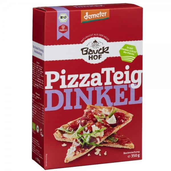 Bio-Dinkel Pizzateig, Demeter-Demeter Bio-Pizzateig Dinkel aus Fairem Handel von Bauck Hof-Fairer Handel mit Dinkel und Getreide in Europa-Fairtrade Bio-Pizzateig Mischung von Bauern aus Deutschland