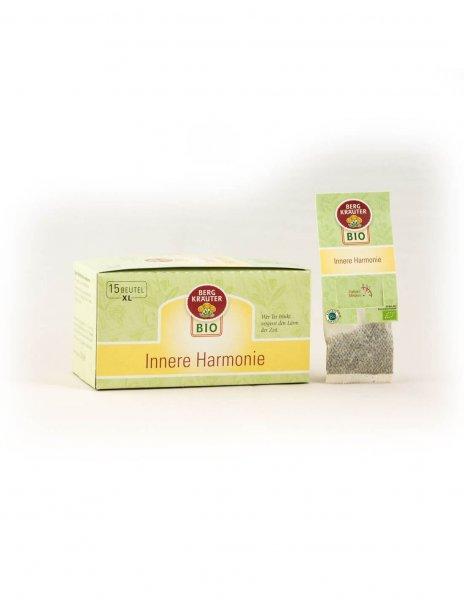 Innere Harmonie Bio-Kräutertee im XL Teebeutel-Bio-Kraeutertee Fastentee aus Fairem Handel-Fairer Handel mit Tee und Kraeutern in Europa-Fairtrade Bio-Kraeutertee aus Oesterreich