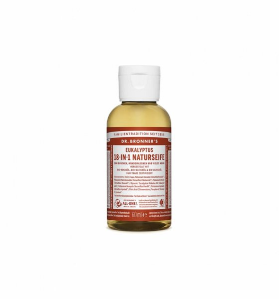 18-in-1 Naturseife Eukalyptus, 60 ml